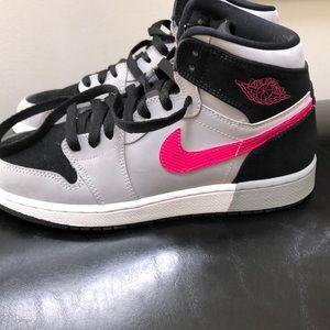 Girls Nike hightop